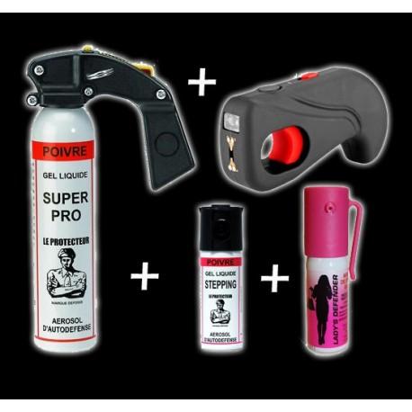 pack-bombe lacrymogène