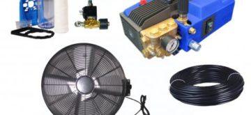 kit ventilateur brumisateur