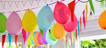 La check-list pour une fête d'anniversaire réussie