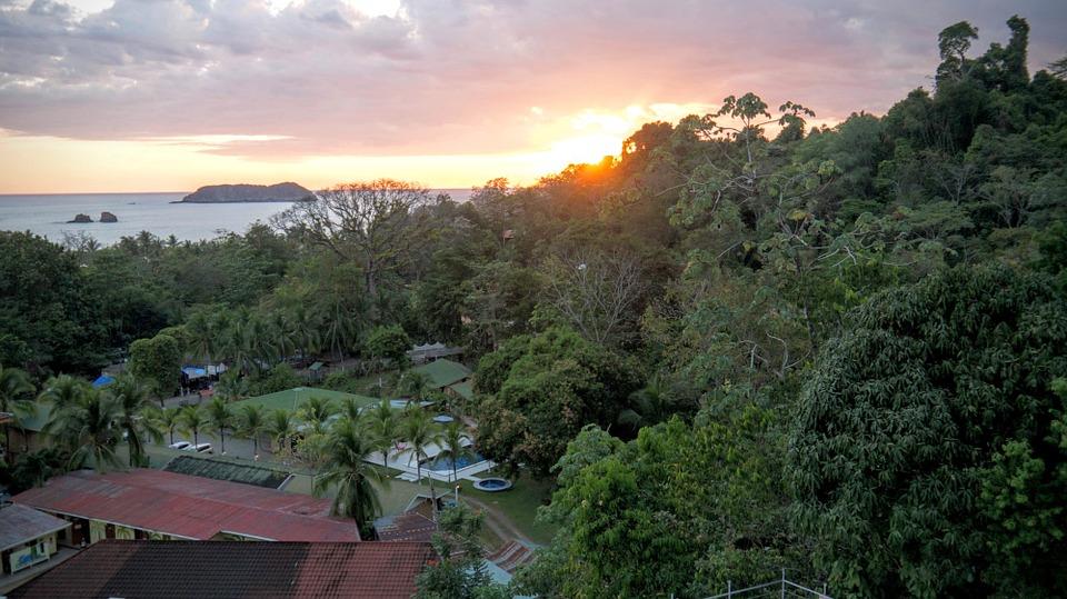Costa Rica Tropical Pacific Ocean Manuel Antonio
